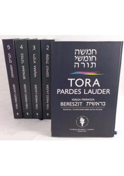Tora Pardes Lauder, Tom I-V
