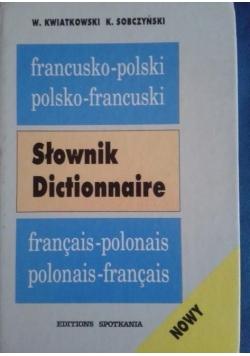 Słownik Dictionnaire francusko-polski i polsko-francuski