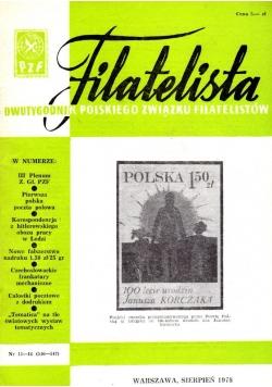 Filatelista sierpień