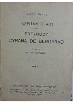 Kapitan Czart, przygody  Cyrana de Bergerac, 1925 r.