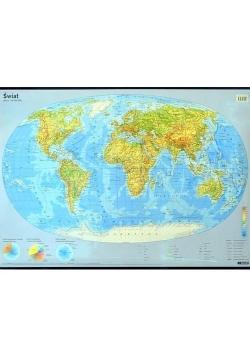 Świat. Mapa ścienna podręczna