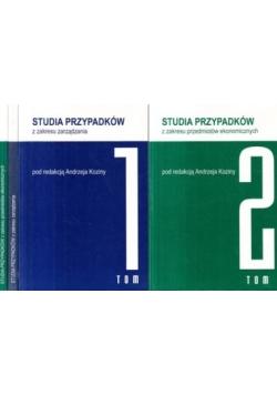 Studia przypadków z zakresu zarządzania/ Studia przypadków z zakresu przedmiotów ekonomicznych, t. 1-2