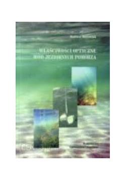 Właściwości optyczne wód jeziornych pomorza