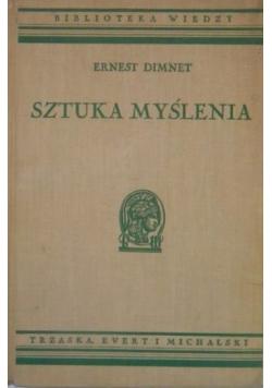 Sztuka myślenia, 1936 r.