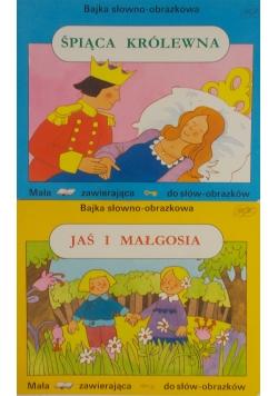Bajka słowno-obrazkowa: Śpiąca królewna / Jaś i Małgosia