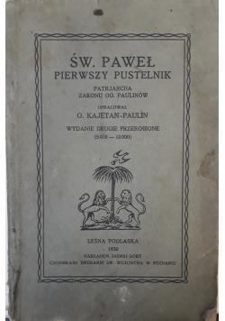 Św. Paweł pierwszy pustelnik, 1930 r.