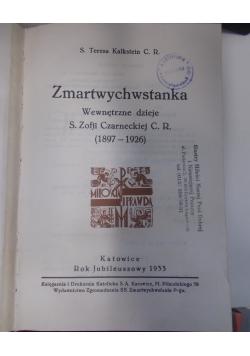 Zmartwychwstanka, 1933 r.