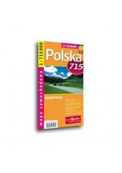 Polska Mapa sam. 1:715 000 DEMART