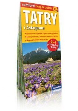 Comfort!map&guide XL Tatry i Zakopane 2w1