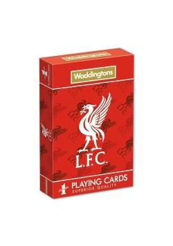 Karty do gry Waddingtons Liverpool FC wersja angielska