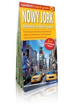 Comfort!map&guide XL Nowy Jork 2w1