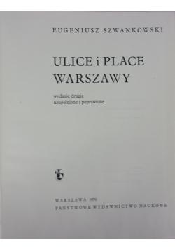 Ulice i Place Warszawy