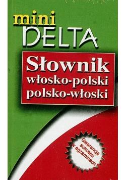 Słownik mini Wł-Pol-Wł DELTA