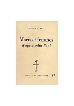 Maris et femmes d'apres saint Paul
