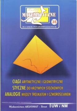 Miniatury matematyczne 35 Ciągi arytmetyczne..