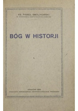 Bóg w historji, 1926 r.