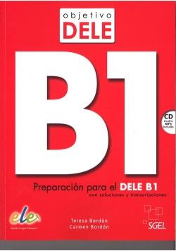 Objetivo Dele B1 Podręcznik + CD mp3