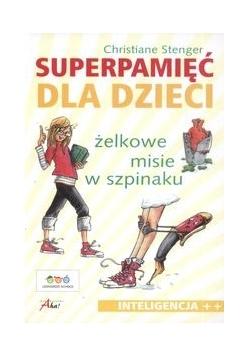 Superpamięć dla dzieci Żelkowe misie w szpinaku