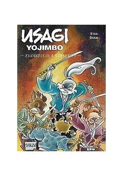 Usagi Yojimbo T.30 Złodzieje i szpiedzy