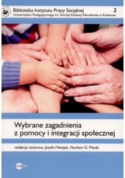 Wybrane zagadnienia z pomocy i integracji społecznej