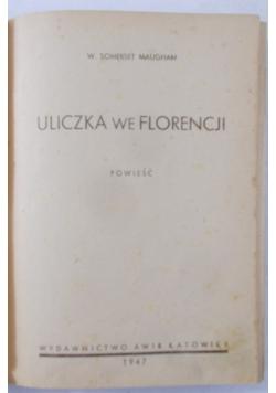 Uliczka we Florencji