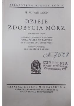 Dzieje zdobycia mórz, 1939 r.