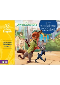 My colourful words! Zwierzogród. Disney English