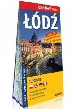 Comfort!map Łódź 1:22 000 kieszonkowy plan miasta