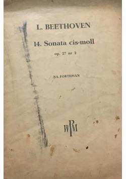 14. Sonata cis-moll op. 27 nr 2 (na fortepian)