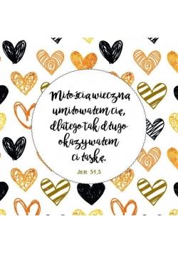 Podstawka korkowa - Miłością wieczną