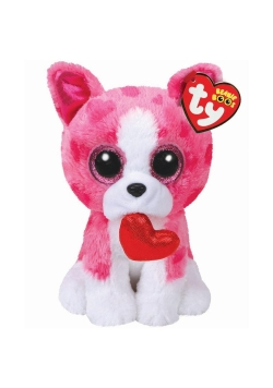 Beanie Boos Romeo - Różowy Pies 15cm