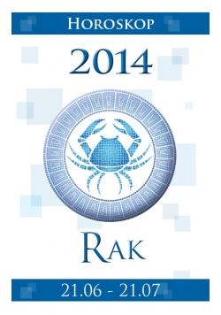 Rak Horoskop 2014
