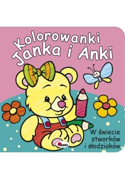 Kolorowanki Janka i Anki