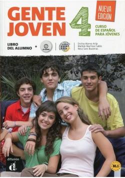 Gente Joven 4 Podręcznik z płytą CD