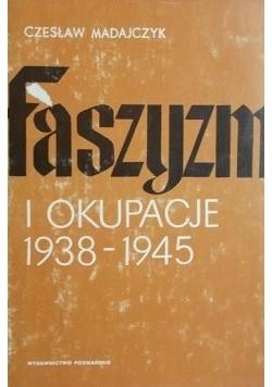 Faszyzm i okupacja 1938-1945