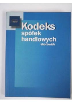 Kodeks spółek handlowych. Skorowidz
