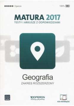 Matura 2017. Testy i arkusze z odpowiedziami. Geografia, zakres rozszerzony
