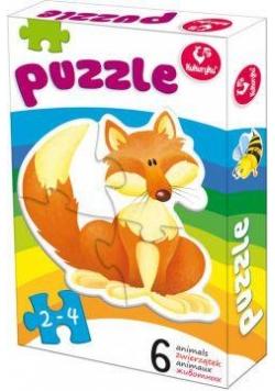 Pierwsze puzzle - Zwierzątka 1