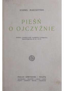 Pieśń o Ojczyżnie, 1928r