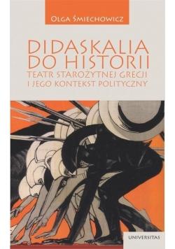 Didaskalia do historiiteatr starożytnej Grecji...
