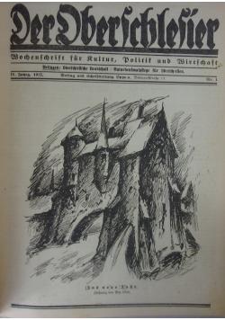 Der Dberschlesier,1922r.