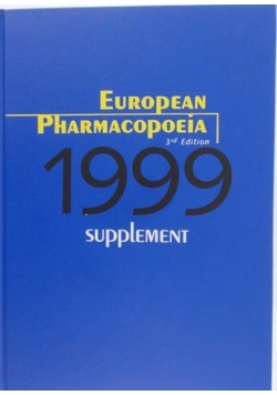 European Pharmacopoeia 3 supplement