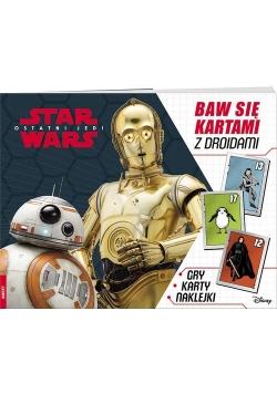 Star Wars Baw się kartami z droidami