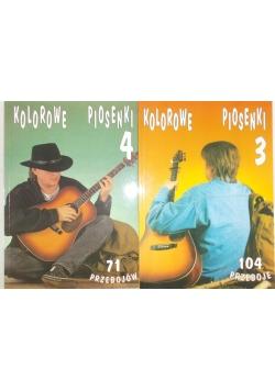 Kolorowe piosenki Tom 3 i 4