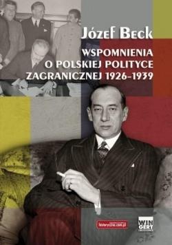 Józef Beck. Wsp.o pol. polityce zagr. 1926-1939