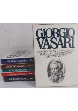 Żywoty najsławniejszych malarzy rzeźbiarzy i architektów, zestaw  6 książek
