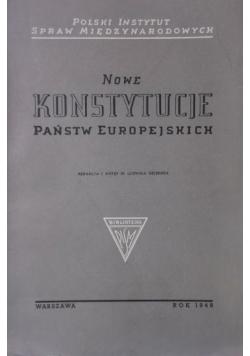 Nowe Konstytucje państw europejskich, 1949 r.