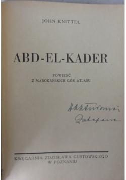 ABD-EL-KADER  1947 r.