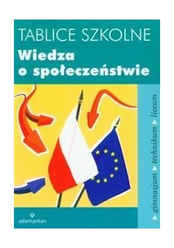 Tablice szkolne Wiedza o społeczeństwie w.2014
