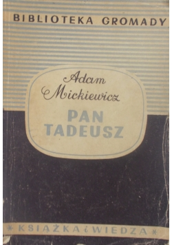 Pan Tadeusz, 1950 r.